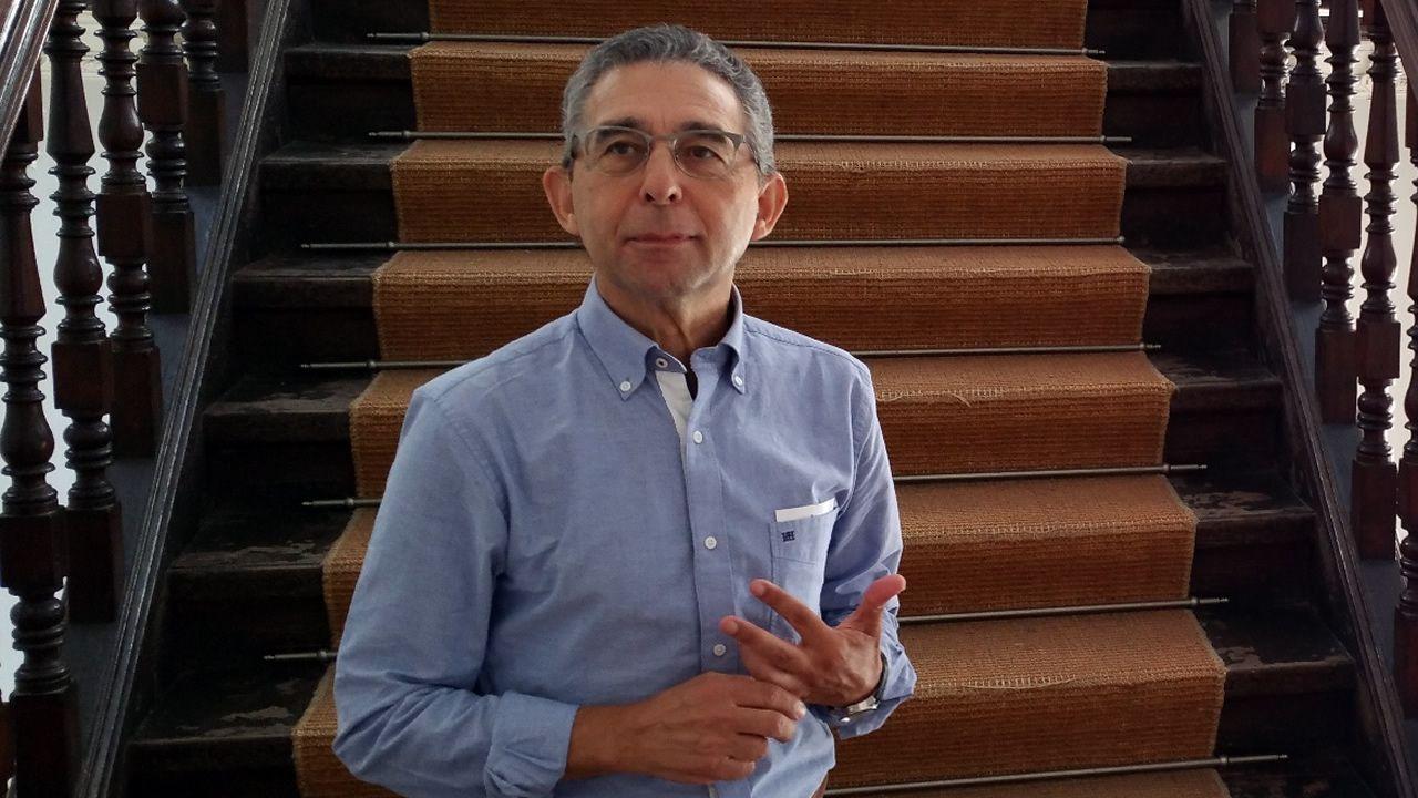 El ganadero Miguel López Domínguez es, junto a su madre, uno de los socios de Agrigga.