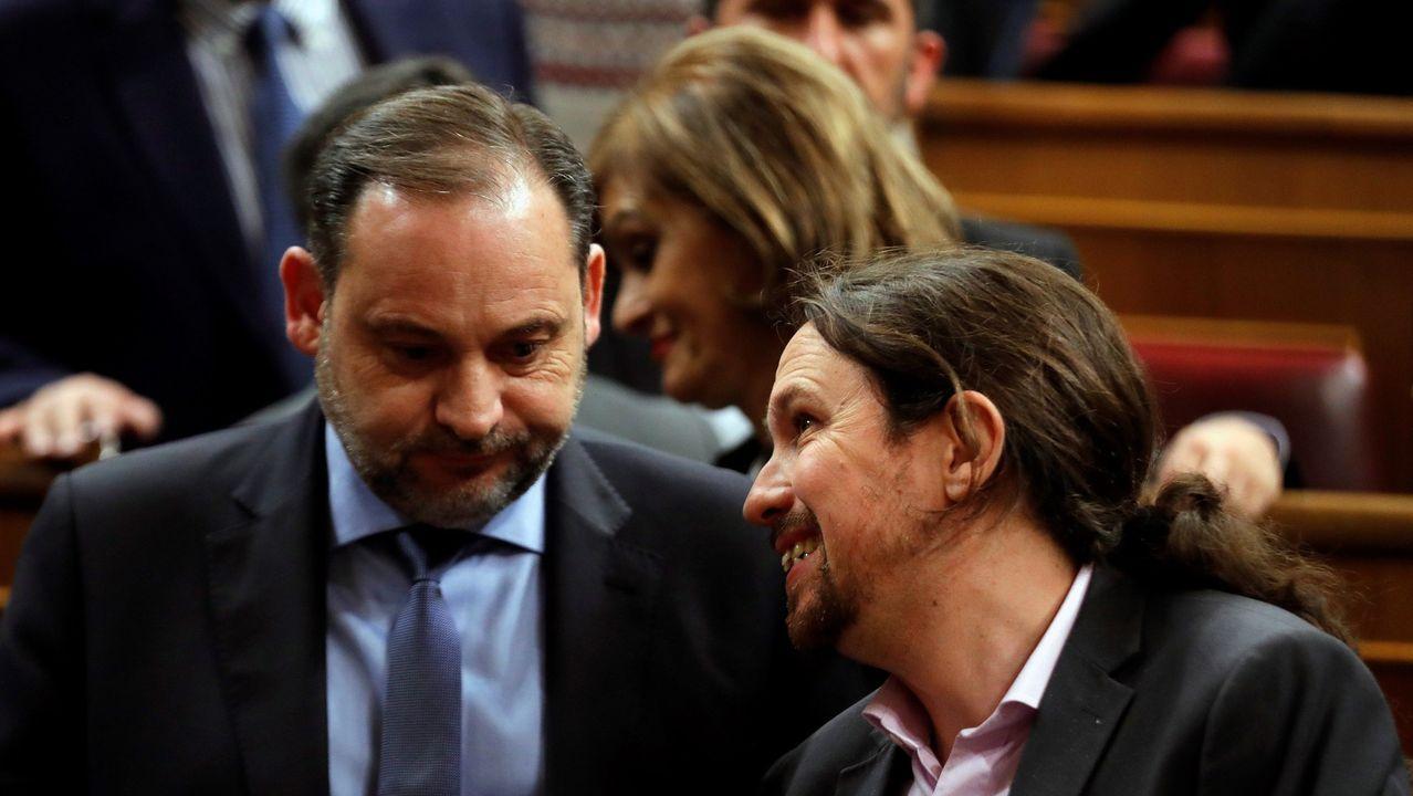 Darias y Rodríguez Uribes, los nuevos ministros de Política Territorial y Cultura.El presidente de la Gestora de Ciudadanos, Manuel García Bofill, en Gijón