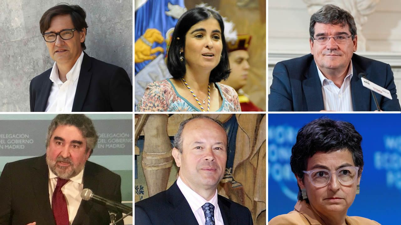 Todos los rostros del nuevo Gobierno de coalición