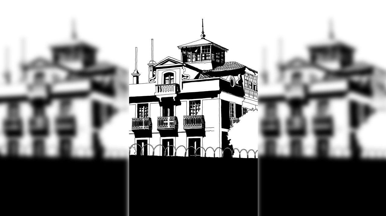 Jácome pretende eliminar una de las torres previstas junto al río Miño (en la imagen, una de las parcelas)