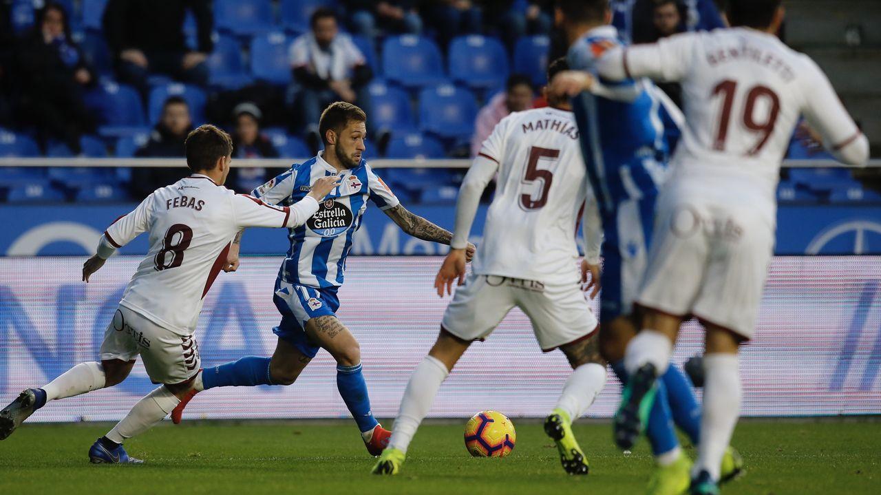 Las mejores imágenes del Málaga - Deportivo.Marta Bobo, en las instalaciones del INEF, donde da clase
