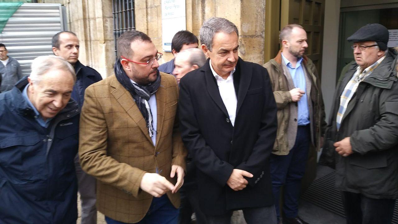 Residencia de Felechosa.Adrián Barbón y Zapero en Oviedo