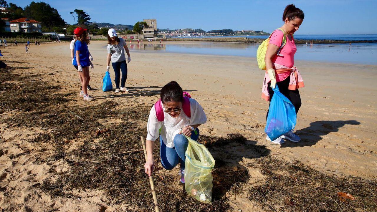Llega a Vigo el reto viral de moda, el de limpiar parajes de basura.Punto limpio