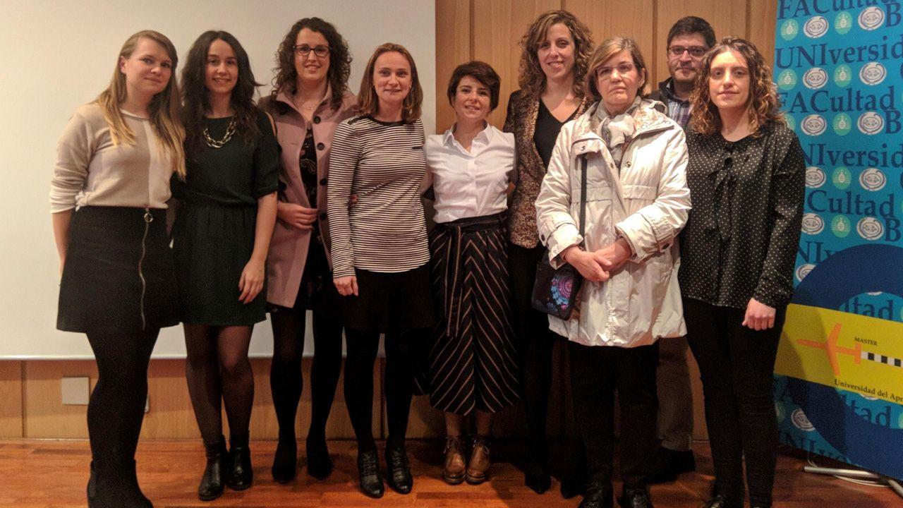 Alicia Nogacka, María Gómez, Silvia Arboleya, Nuria Salazar, Tania Fernández, Sonia González Solares, Clara González, Miguel Gueimonde e Isabel Gutiérrez