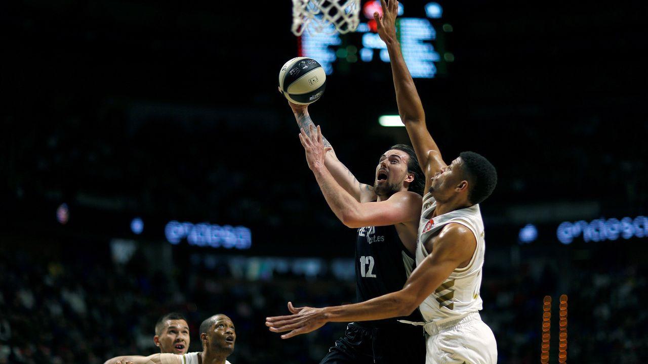 José Andrés se entrena para el partido de famosos del All Star de la NBA