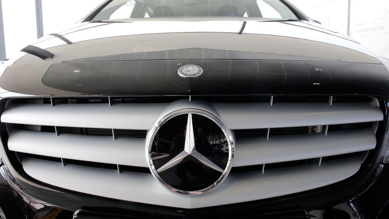 Imagen de archivo de un vehículo Mercedes