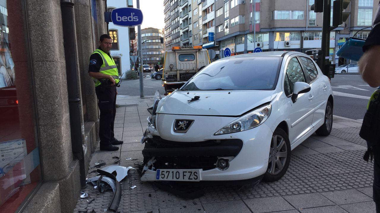 Accidente Aradas