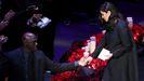 Emotiva despedida a Kobe Bryant en el Staples Center de Los Ángeles