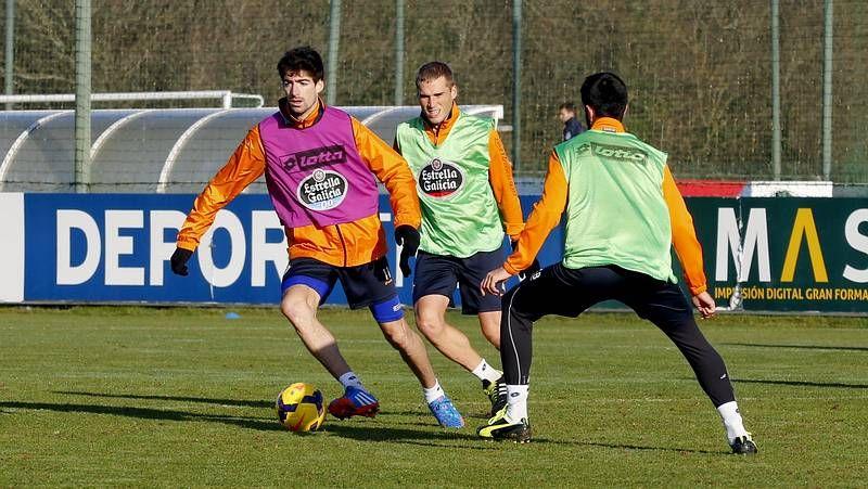 El Deportivo 0 - Girona 0, en fotos.Un punto bastaría al Dépor el sábado contra el Girona para coronarse campeón de invierno.