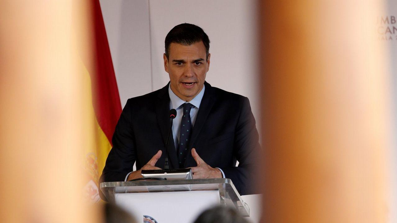 El sexto Xantar Solidario de la EFA Fonteboa, en imágenes.El nuevo presidente de México, a su llegada al Palacio Nacional para la recepción oficial