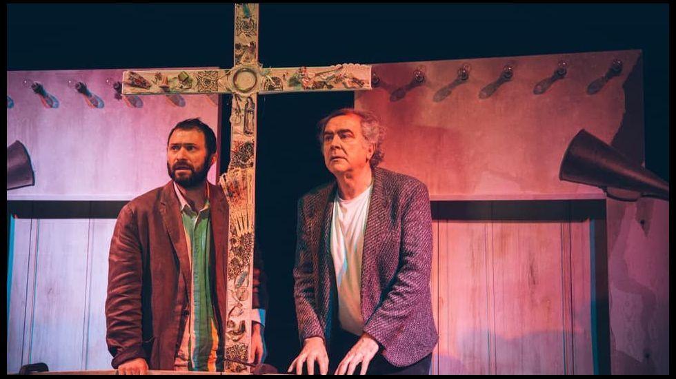 Teatro da Ramboia actúa en el Gustavo Freire