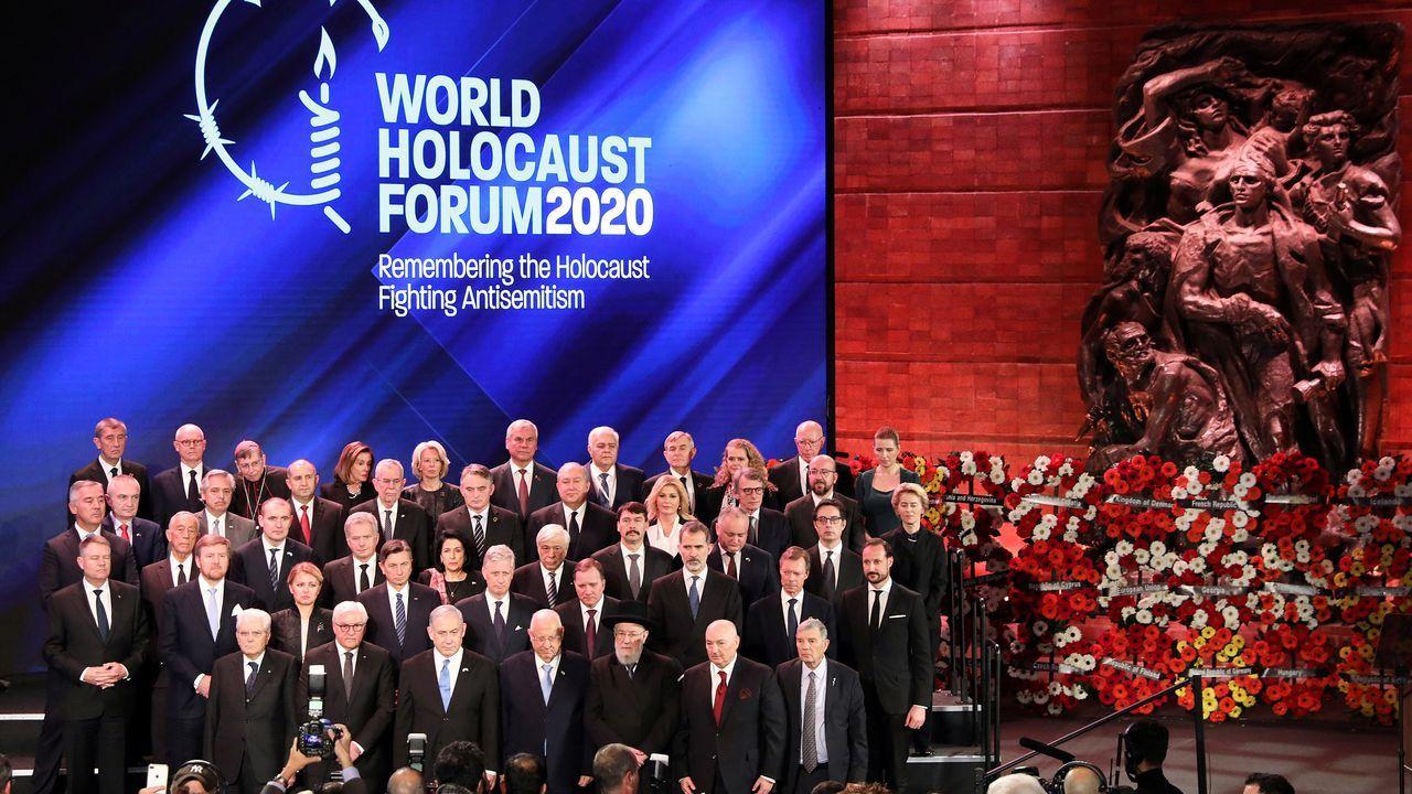Más de 40 líderes mundiales participan en el mayor evento diplomático celebrado en Jerusalén en recuerdo del Holocausto