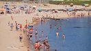 En la fotografía puede observarse el arenal pobrense de Cabío, el pasado año