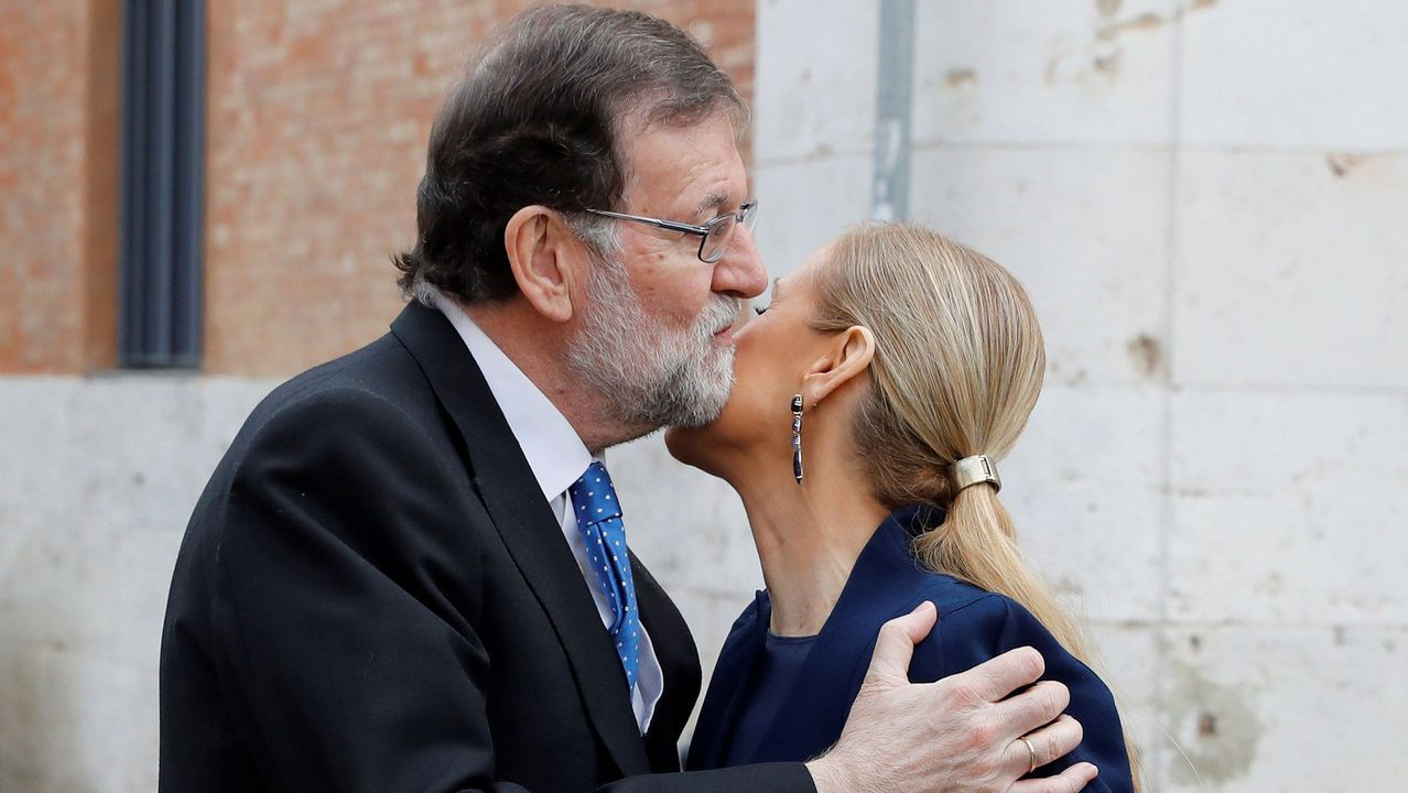 Cifuentes dice que habla con Rajoy «con mucha frecuencia».Cristina Cifuentes