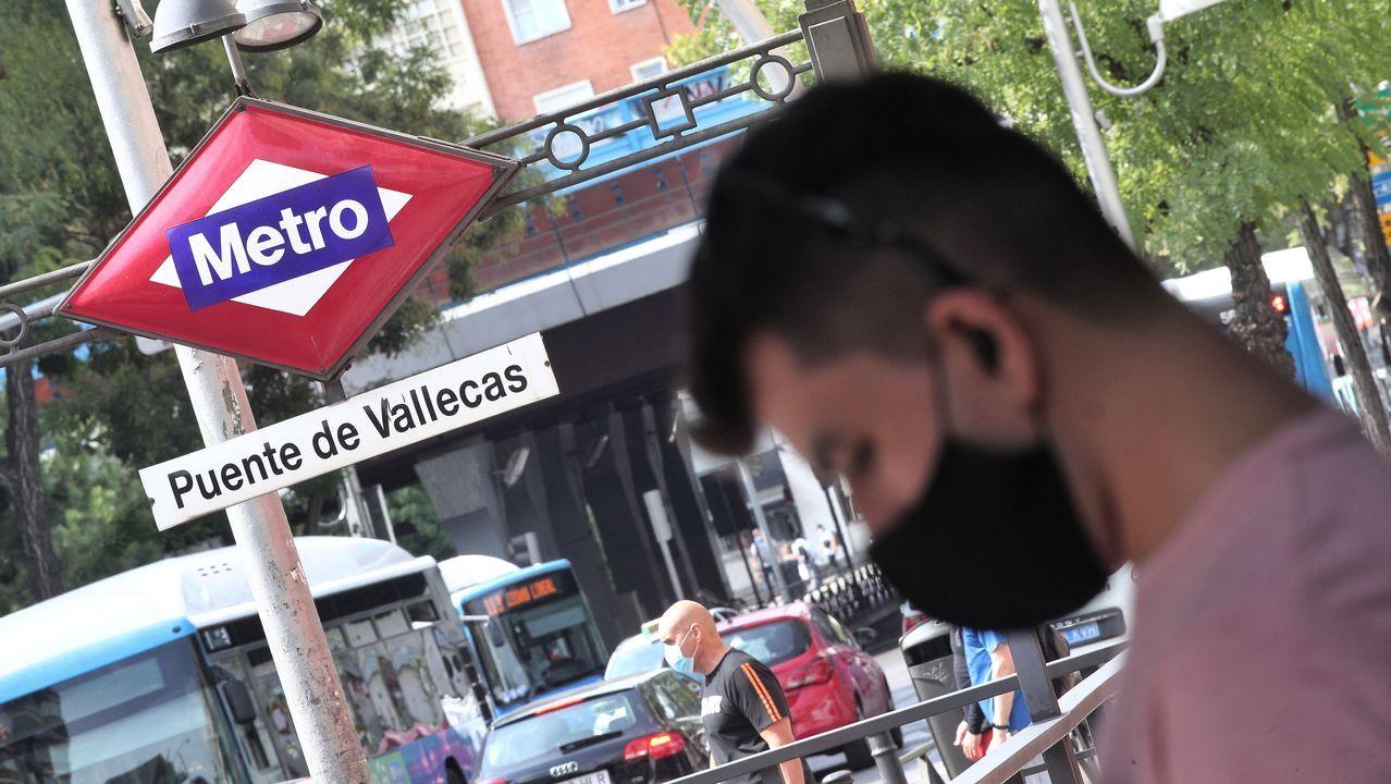 Puente de Vallecas es uno de los barrios madrileños más afectados por la pandemia