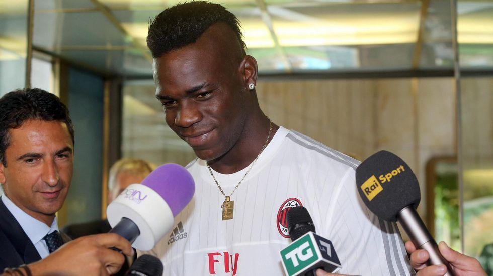 Balotelli: «Siempre he deseado volver al Milan».Cristian Rivera con el Eibar