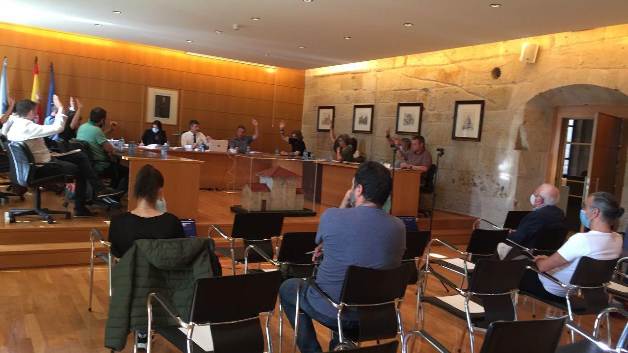 Así es el pazo de Meirás.Imagen del juicio por la propiedad del pazo de Meirás, que comenzó este lunes en A Coruña