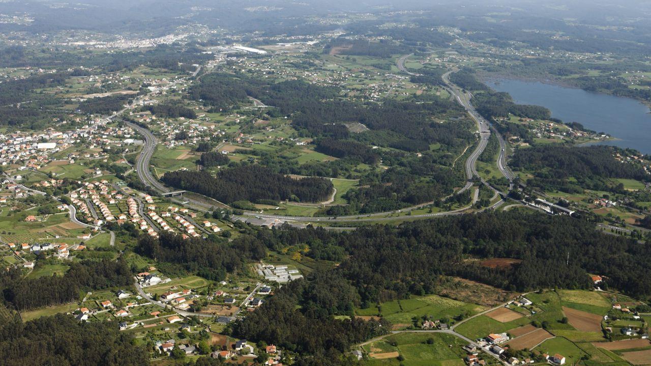 El poblamiento disperso es una de las características de Galicia