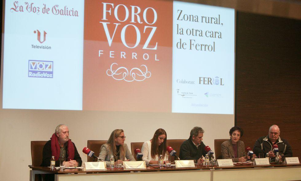 Miguel Parra, Martina Aneiros, María Meizoso, José Lage, Natividad González y Cereijo.