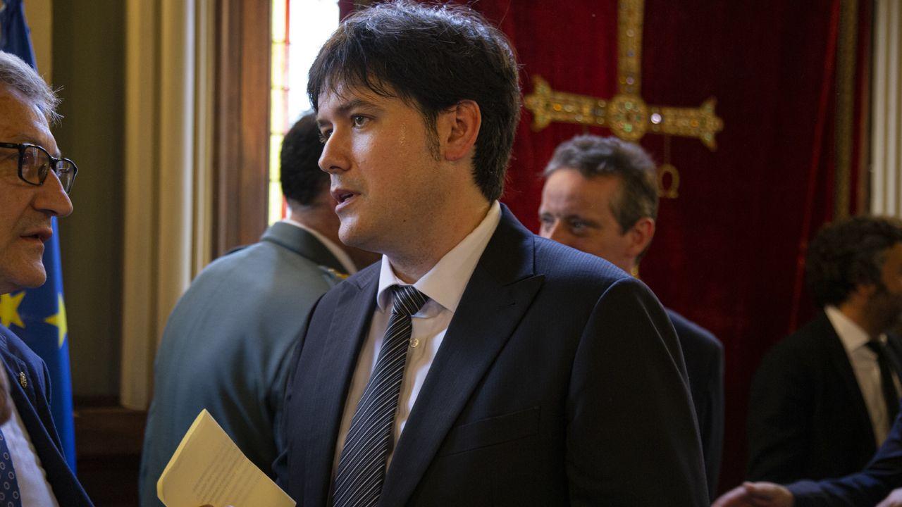 Borja Sánchez, consejero e Ciencia, Innovación y Universidad en la Investidura