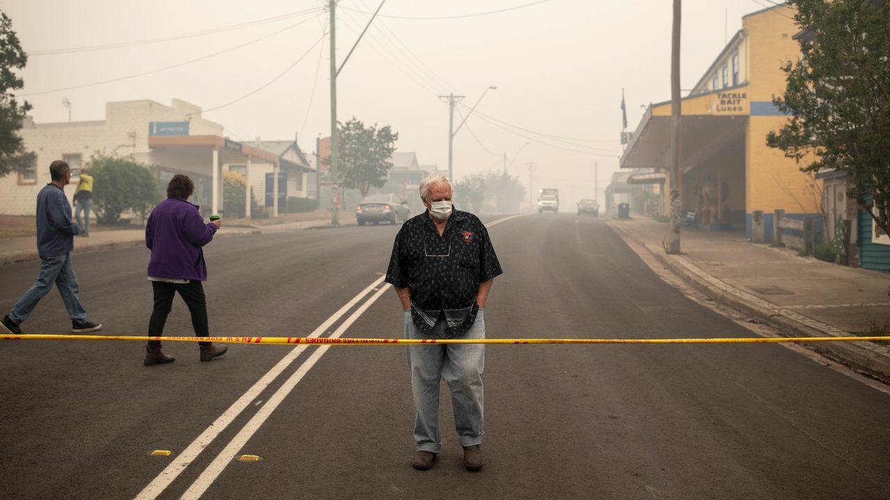 Las imágenes del zoo.Incendios en Australia