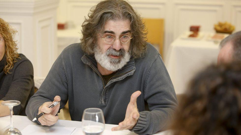 Antonio Fernández, en un acto informativo sobre el Hermes