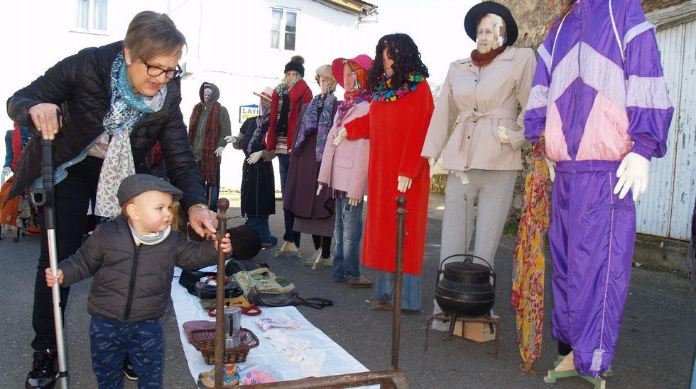 Así se celebrou o Xoves de Comadres na comarca de Lemos.Pablo Iglesias