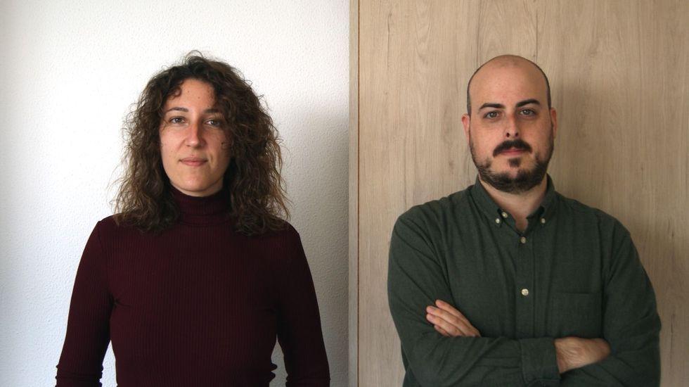 Sara Prieto y Rubén Santiago