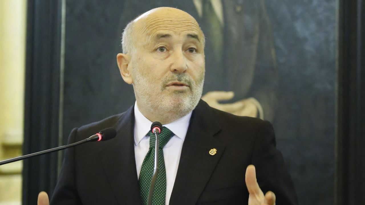 Javier Losada, en una foto del 2016