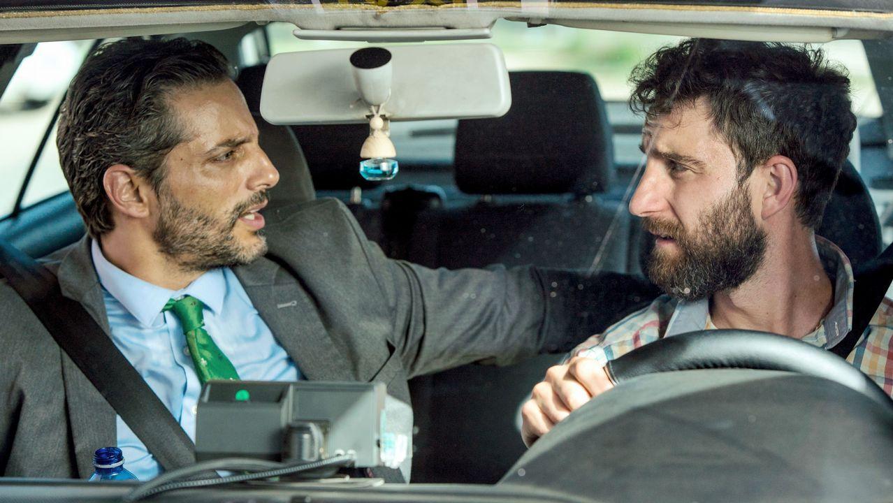 Fotograma del filme «Taxi a Gibraltar»