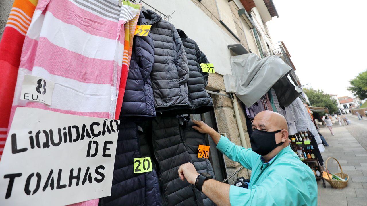 Los gallegos representan el 80% de la clientela de los negocios de Valença