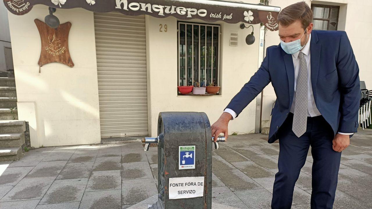 El concejal de Medio Ambiente, Álvaro Santos