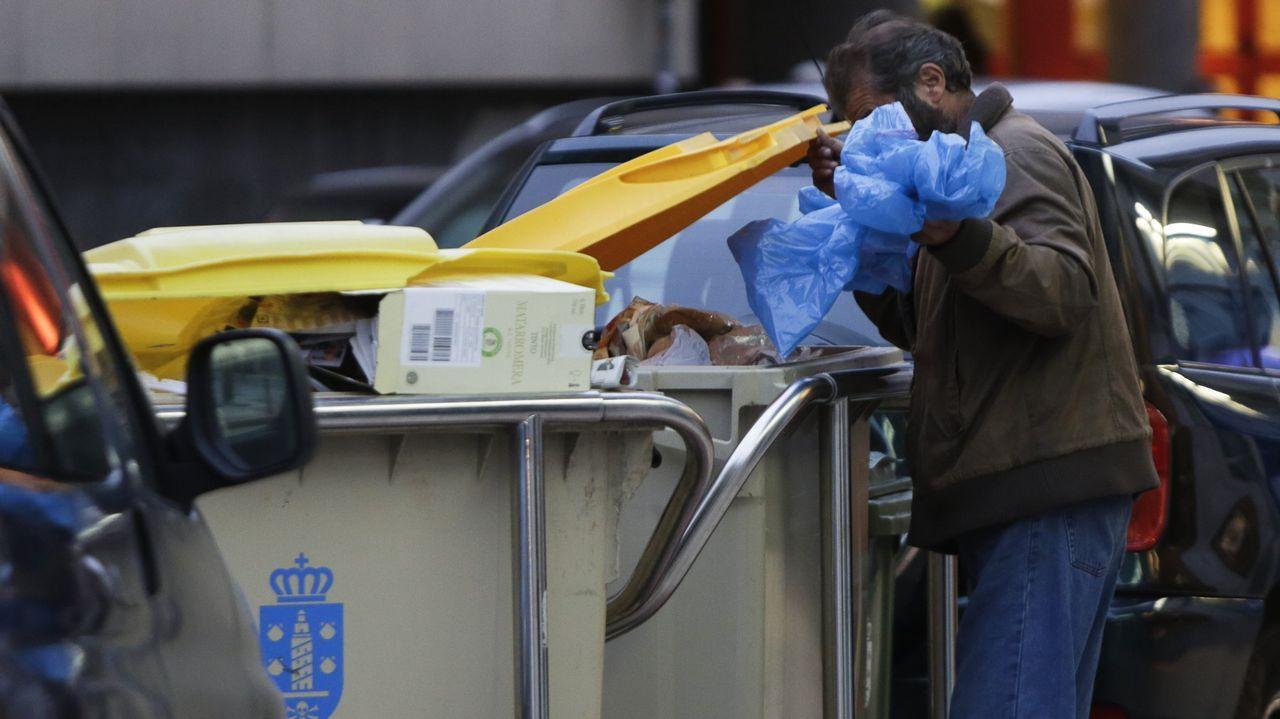 La pobreza en España tiene rostro de mujer.Central Térmica de Lada 2