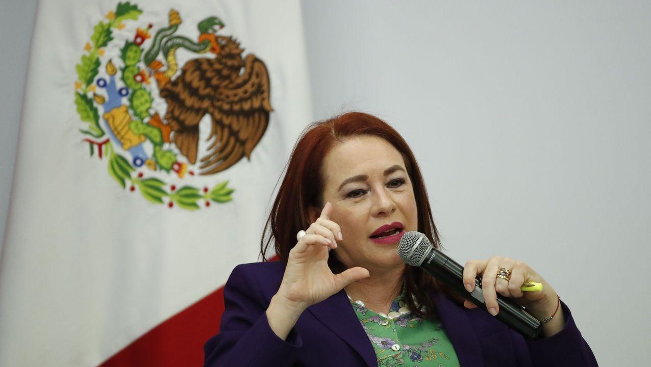 a excanciller de Ecuador María Fernanda Espinosa