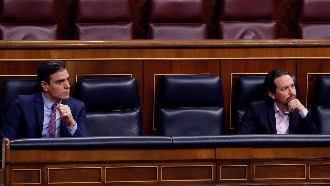 Clausurada la morgue provisional que fue instalada en el Palacio de Hielo.Sánchez preside el Consejo de Ministros Extraordinario celebrado en Moncloa el 26 de abril