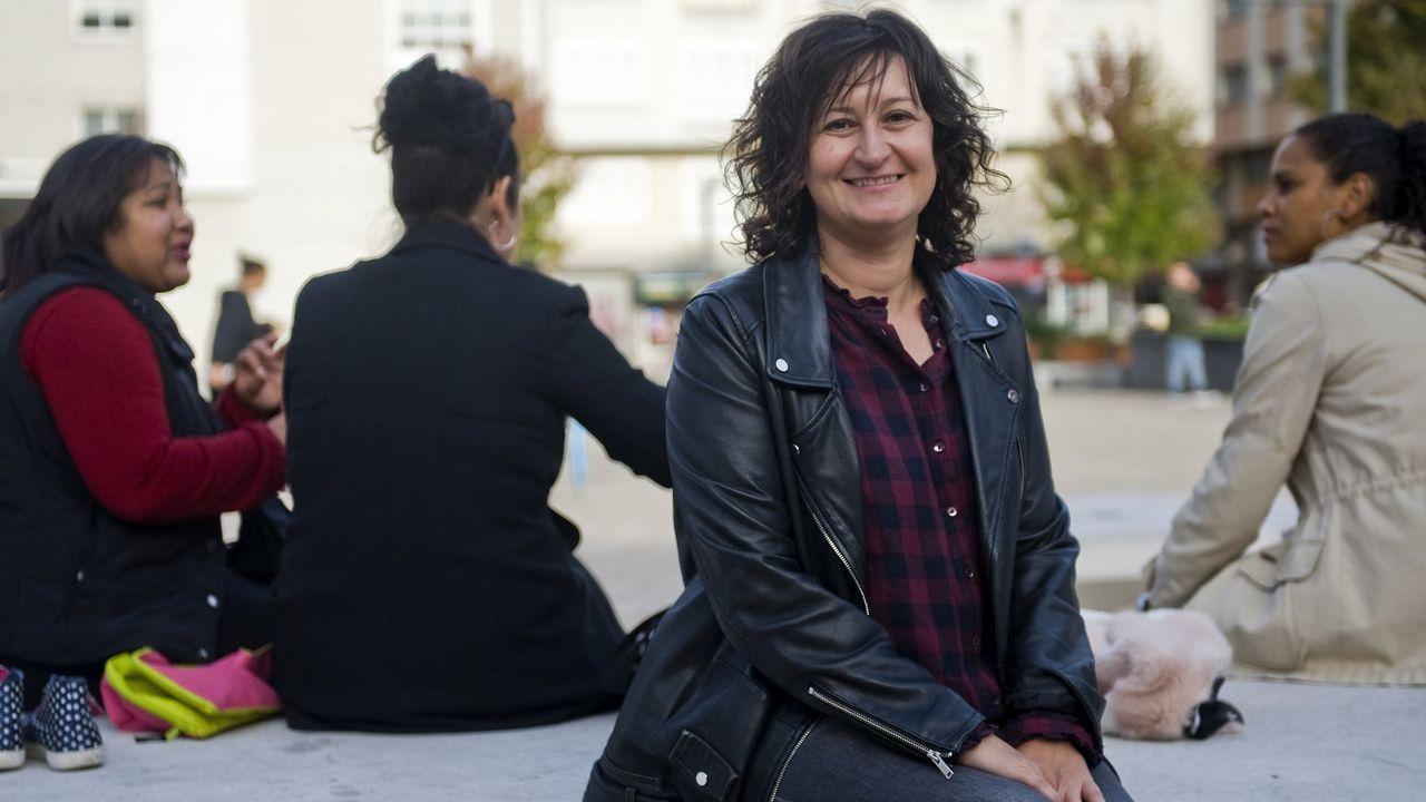 La socióloga de la UDC Raquel Martínez Buján