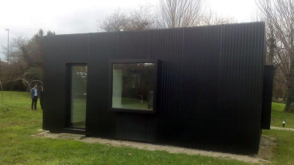 Vivienda modular con acero construida por Arcelor.Vivienda modular con acero construida por Arcelor