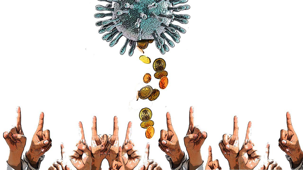 Los «cazafantasmas» del virus desinfectan por el mundo.Merkel, durante la videoconferencia con los dirigentes de los 16 estados federales de Alemania