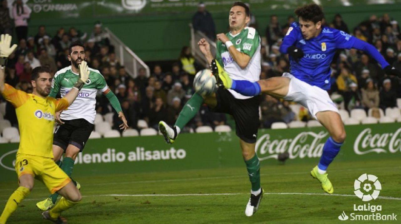 Sangalli remata ante David Rodríguez y Luca Zidane