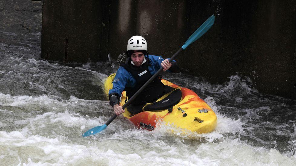 El primer descenso del año del Quixós en el río Cabe