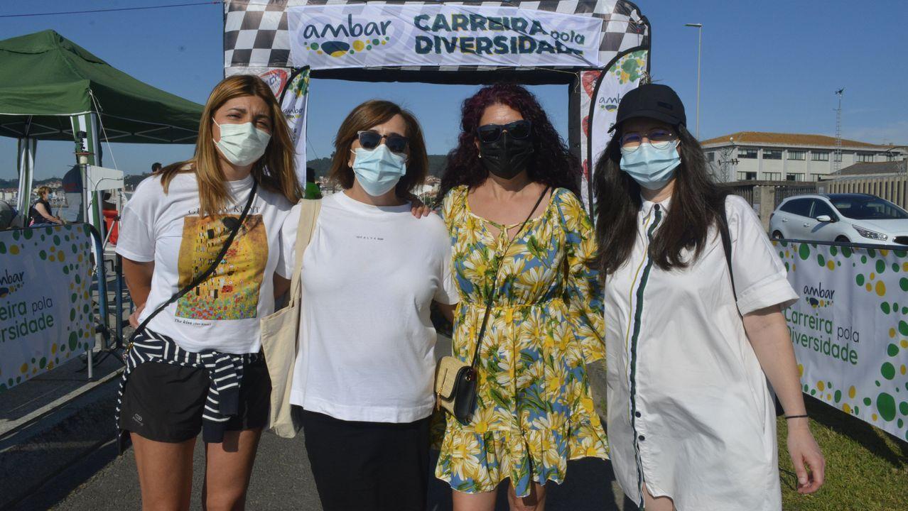 Ambar celebró en Ribeira una nueva edición de su Carreira pola Diversidade