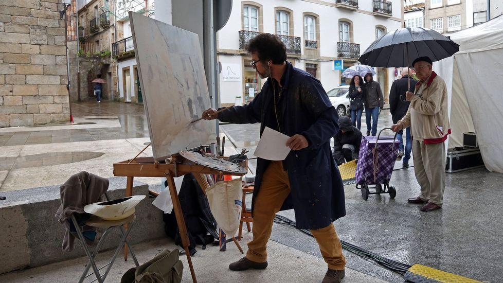 Fiestas de San Marcos, concurso de pintura al aire libre