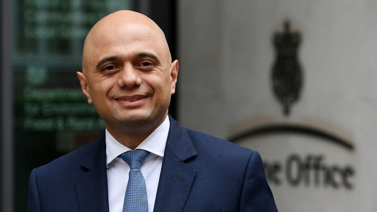 Sajid Javid, nuevo ministro del Interior británico