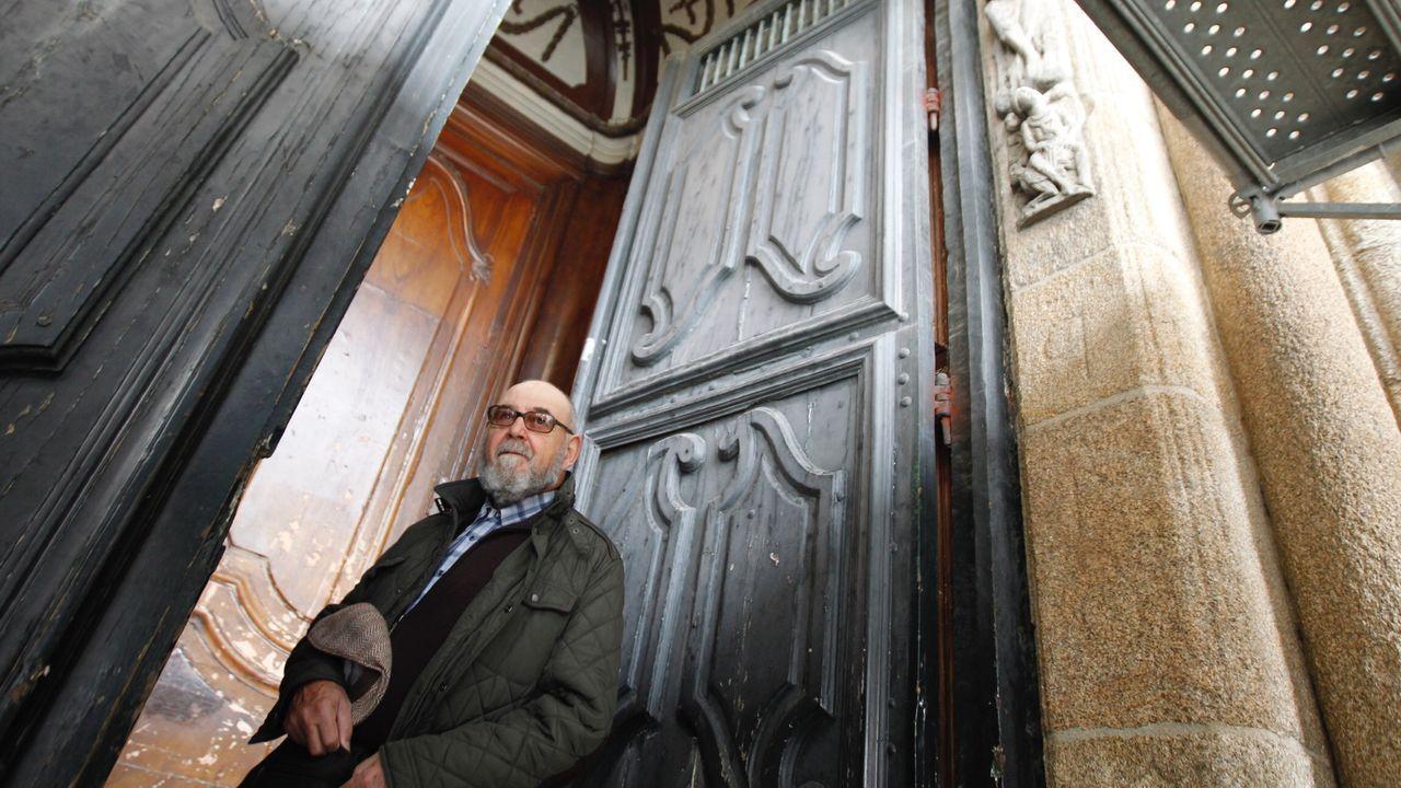 Cierre de la catedral de Santiago por el coronavirus