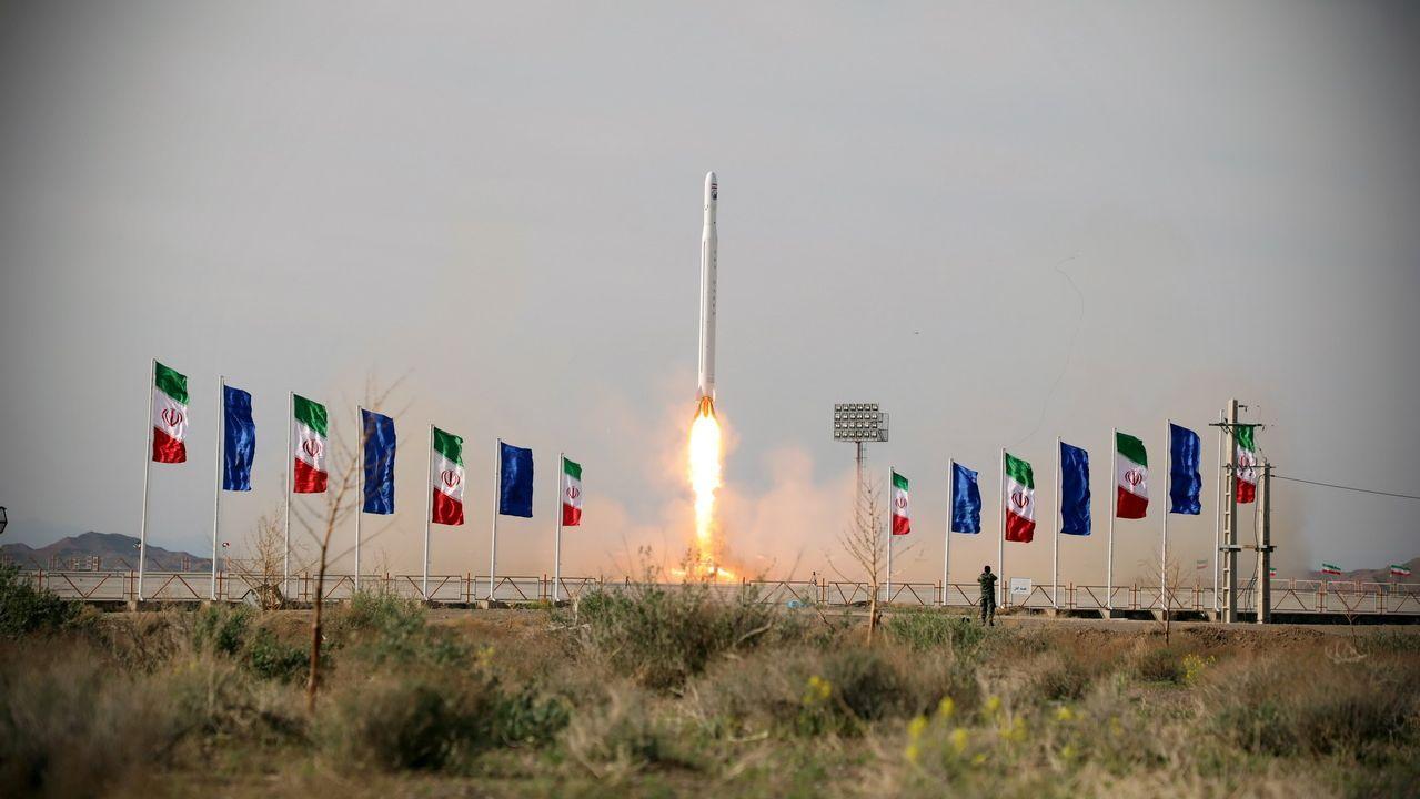 El lanzamiento del satélite Nur-1 (Luz-1) ha tenido lugar en el desierto de Kavir, situado en la zona centro de Irán