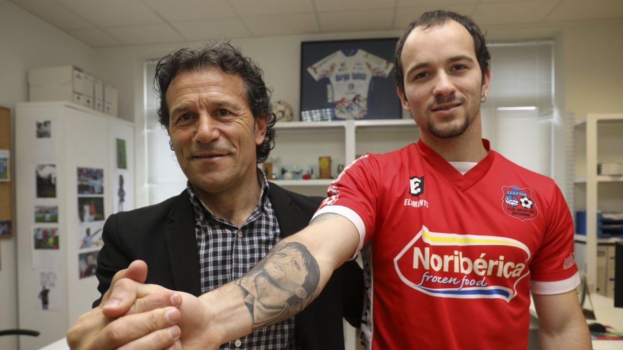 Así fue la charla sobre fútbol entre Eusebio Sacristán y Sergio González.Aleksander Ceferin, presidente de UEFA