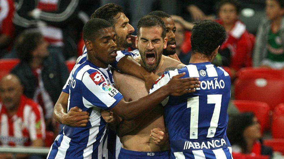 El Athletic de Bilbao 1 - Deportivo 1, en fotos