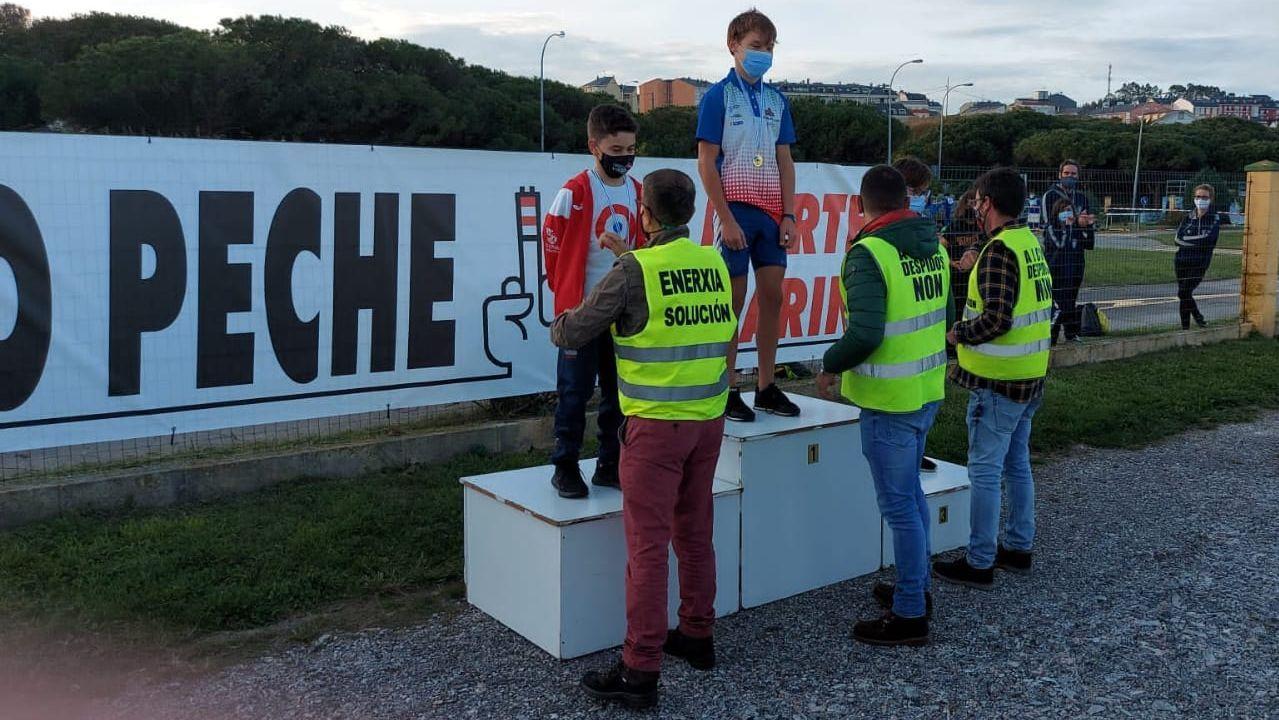 Trabajadores de Alcoa en Burela.Imagen de archivo de una protesta de trabajadores de Alu Ibérica