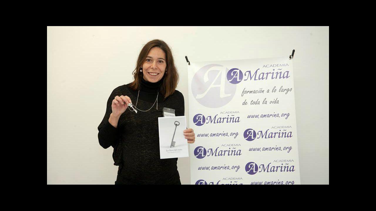Imaxe de Ángeles Montero en O Albergue do Montero cando abriu, en 2016
