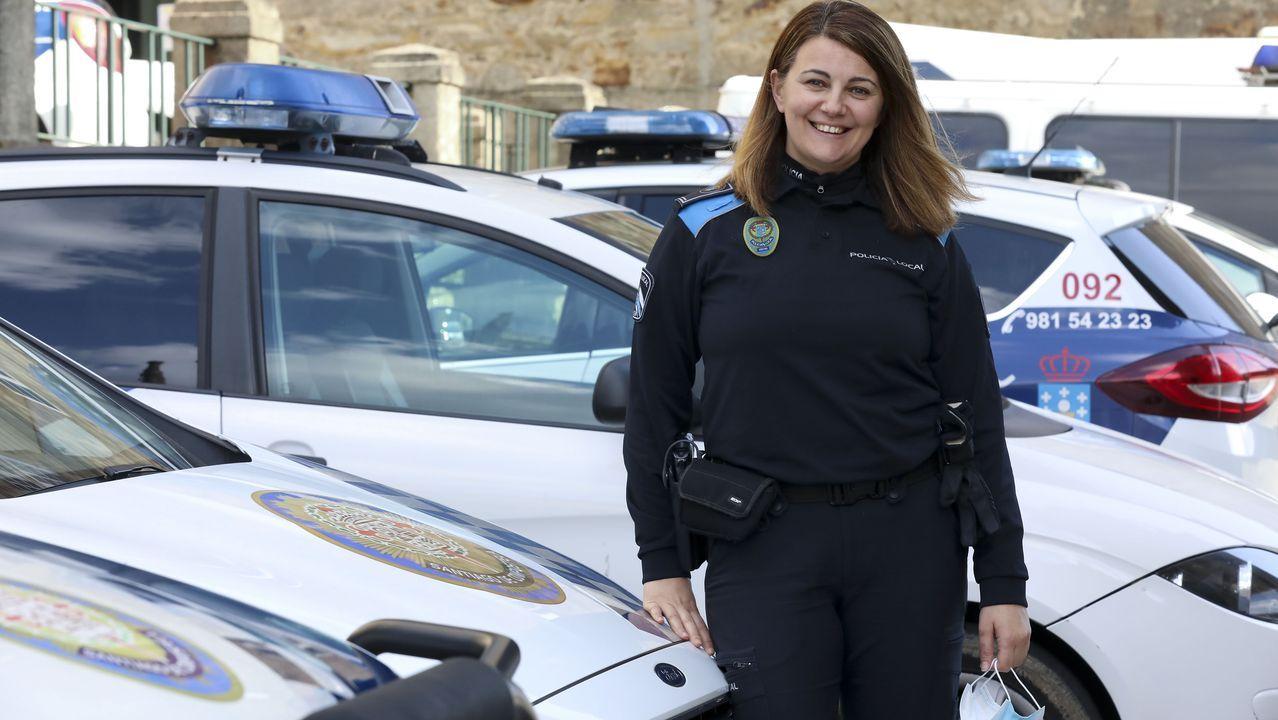 Diana Parente, policía municipal de Santiago